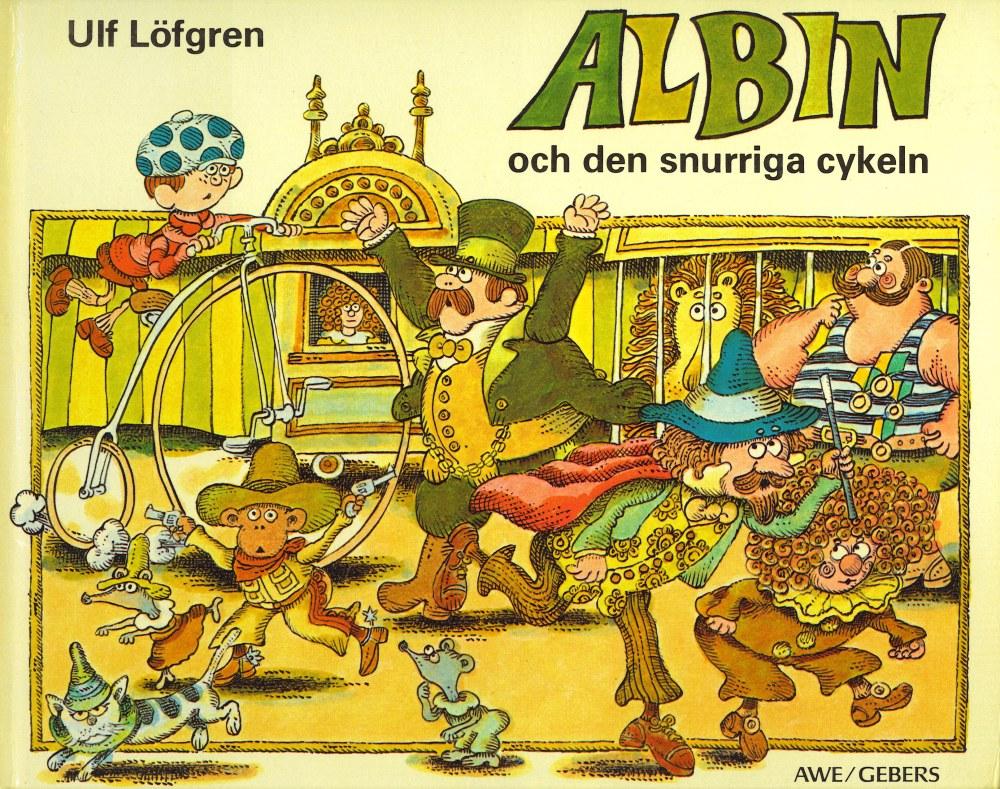 Albin och den snurriga cykeln