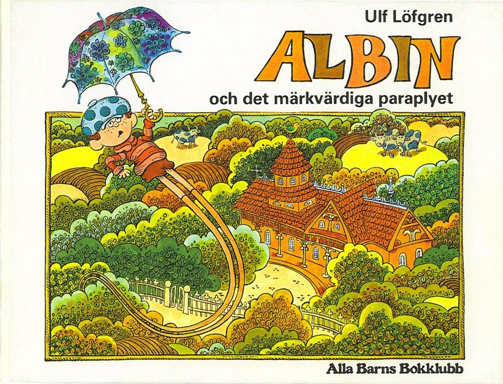 Albin och det märkvärdiga paraplyet