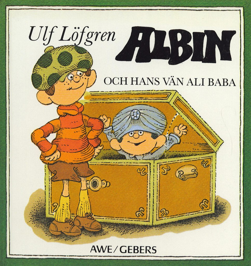 Albin och hans vän Ali baba