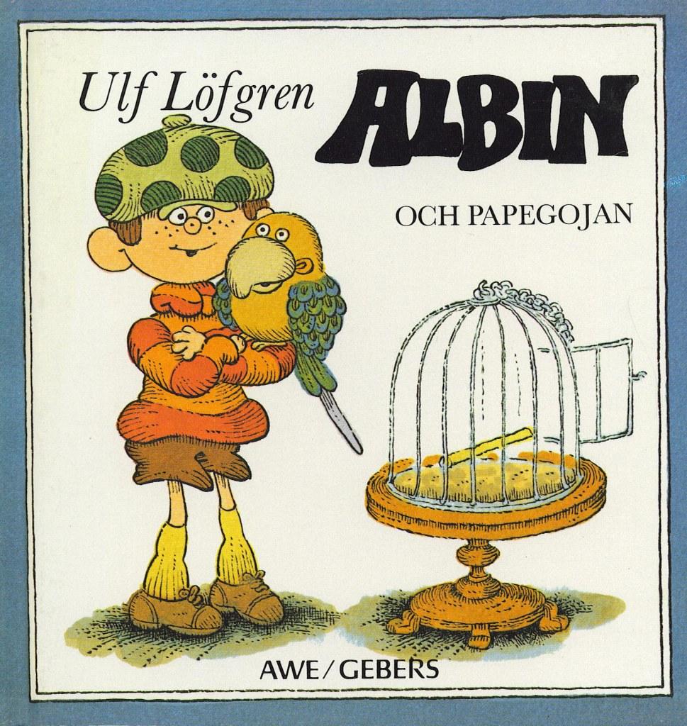 Albin och papegojan