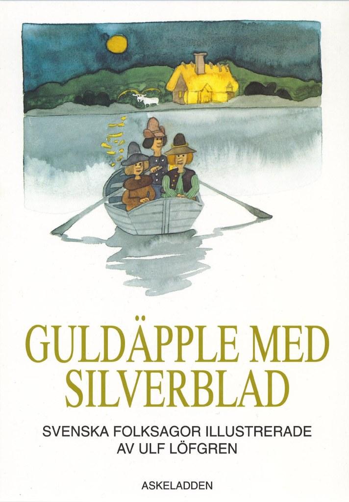 Guldäpple med silverblad